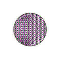 Retro Golf Ball Marker 10 Pack (for Hat Clip) by Siebenhuehner