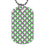 Retro Dog Tag (Two-sided)  Front