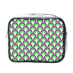 Retro Mini Travel Toiletry Bag (one Side) by Siebenhuehner