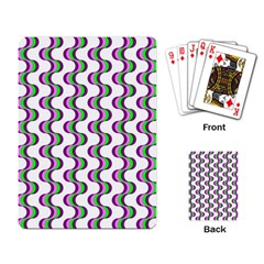 Retro Playing Cards Single Design by Siebenhuehner