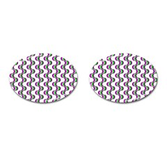 Retro Cufflinks (oval) by Siebenhuehner