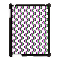Retro Apple Ipad 3/4 Case (black)