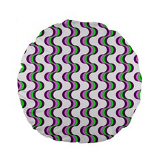 Retro 15  Premium Round Cushion