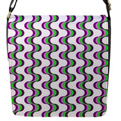 Retro Flap Closure Messenger Bag (small) by Siebenhuehner