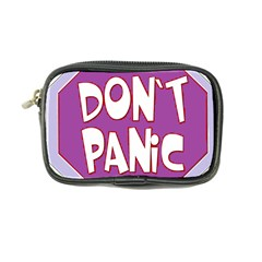 Purple Don t Panic Sign Coin Purse by FunWithFibro