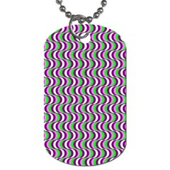 Pattern Dog Tag (two Sided)