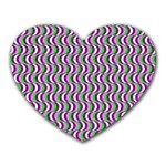 Pattern Mouse Pad (Heart) Front