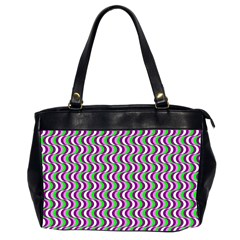 Pattern Oversize Office Handbag (two Sides) by Siebenhuehner