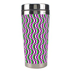 Pattern Stainless Steel Travel Tumbler