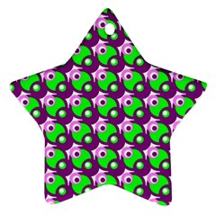 Pattern Star Ornament by Siebenhuehner