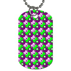 Pattern Dog Tag (two Sided)  by Siebenhuehner