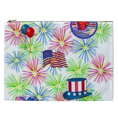 Patriot Fireworks Cosmetic Bag (xxl) by StuffOrSomething