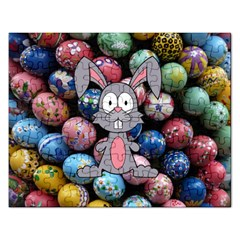 Easter Egg Bunny Treasure Jigsaw Puzzle (rectangle) by StuffOrSomething