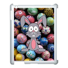 Easter Egg Bunny Treasure Apple Ipad 3/4 Case (white) by StuffOrSomething