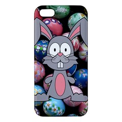 Easter Egg Bunny Treasure Iphone 5s Premium Hardshell Case by StuffOrSomething