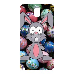 Easter Egg Bunny Treasure Samsung Galaxy Note 3 N9005 Hardshell Back Case by StuffOrSomething