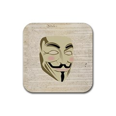 We The Anonymous People Drink Coaster (square) by StuffOrSomething