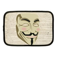 We The Anonymous People Netbook Sleeve (medium) by StuffOrSomething
