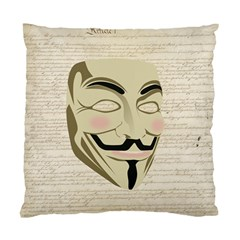 We The Anonymous People Cushion Case (two Sided)  by StuffOrSomething