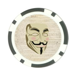 We The Anonymous People Poker Chip (10 Pack) by StuffOrSomething