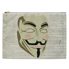 We The Anonymous People Cosmetic Bag (xxl) by StuffOrSomething