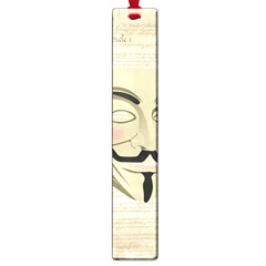 We The Anonymous People Large Bookmark