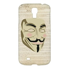 We The Anonymous People Samsung Galaxy S4 I9500/i9505 Hardshell Case by StuffOrSomething