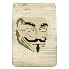 We The Anonymous People Removable Flap Cover (small) by StuffOrSomething