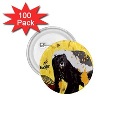Honeybadgersnack 1 75  Button (100 Pack) by BlueVelvetDesigns