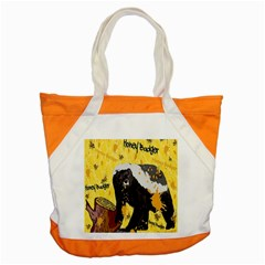 Honeybadgersnack Accent Tote Bag by BlueVelvetDesigns