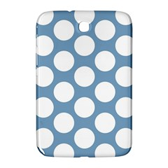 Blue Polkadot Samsung Galaxy Note 8 0 N5100 Hardshell Case  by Zandiepants