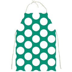 Emerald Green Polkadot Apron by Zandiepants