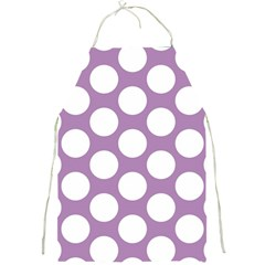 Lilac Polkadot Apron by Zandiepants