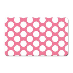 Pink Polkadot Magnet (rectangular) by Zandiepants
