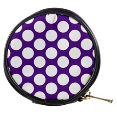 Purple Polkadot Mini Makeup Case by Zandiepants