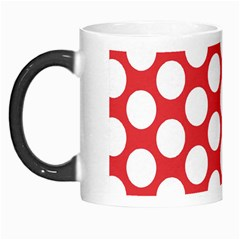 Red Polkadot Morph Mug by Zandiepants