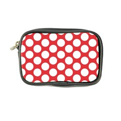 Red Polkadot Coin Purse by Zandiepants