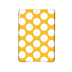 Sunny Yellow Polkadot Apple Ipad Mini 2 Hardshell Case by Zandiepants