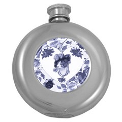 Miss Kitty Hip Flask (round) by misskittys