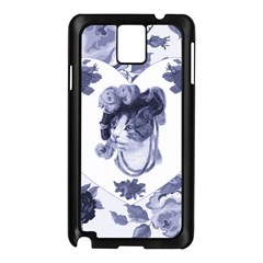Miss Kitty Samsung Galaxy Note 3 N9005 Case (black) by misskittys