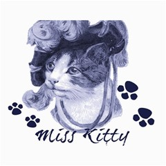 Miss Kitty Blues Canvas 12  X 16  (unframed) by misskittys