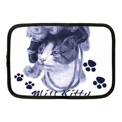 Miss Kitty Blues Netbook Sleeve (medium)