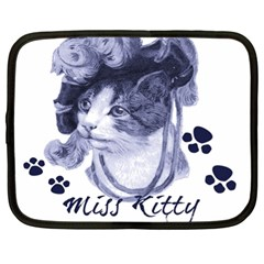 Miss Kitty Blues Netbook Sleeve (xl)