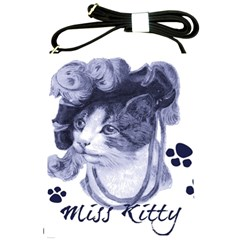 Miss Kitty Blues Shoulder Sling Bag by misskittys