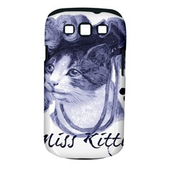 Miss Kitty Blues Samsung Galaxy S Iii Classic Hardshell Case (pc+silicone) by misskittys