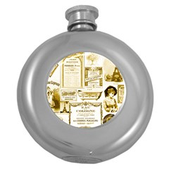 Parisgoldentower Hip Flask (round) by misskittys