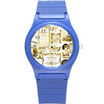 Parisgoldentower Plastic Sport Watch (Small) Front