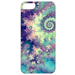 Violet Teal Sea Shells, Abstract Underwater Forest Apple Iphone 5 Classic Hardshell Case by DianeClancy