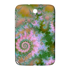 Rose Forest Green, Abstract Swirl Dance Samsung Galaxy Note 8 0 N5100 Hardshell Case  by DianeClancy