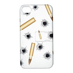 Bulletsnbulletholes Apple Iphone 4/4s Hardshell Case With Stand
